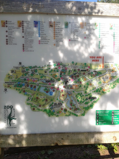 Paignton Zoo Map: Ingress portal