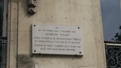 Ici vécut Georges Paulin: Ingress portal