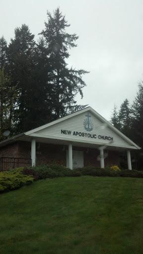 New Apostolic Church West Olympia: Ingress portal