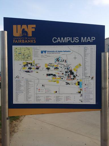 UAF Campus Map: Ingress portal