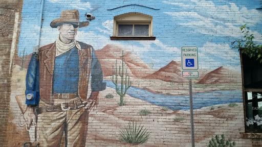 The Duke Mural: Ingress portal