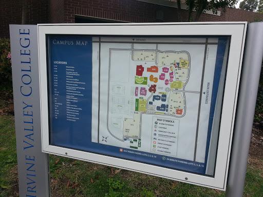 Irvine Valley College Campus Map North East: Ingress portal
